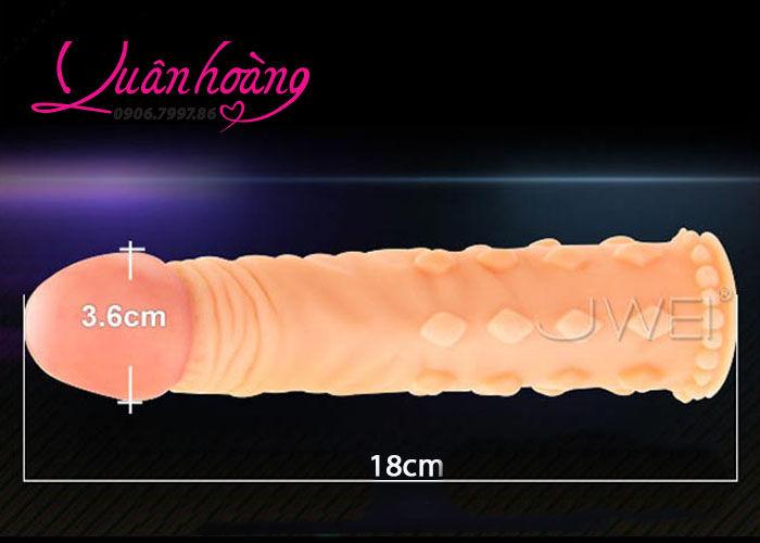 Chi tiết bao đôn dên 5 phân gân gai Lovetoy độ dương vật