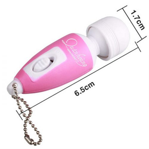 Kích thước móc khoá rung mini massage điểm G