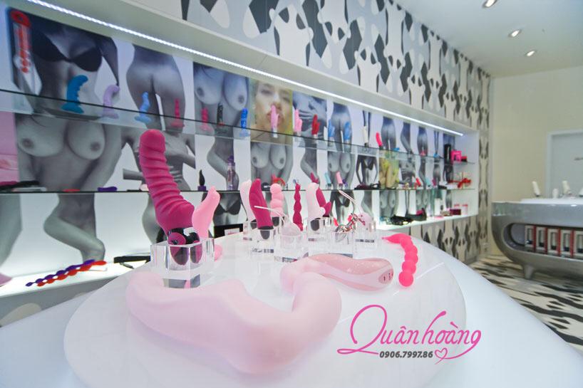Hình ảnh của sex toy showroom trưng bày sang trọng tại Đức